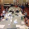Ready. Set. Making a mess! #paperprototyping #asumvcd #firstday #backtoschool #studio