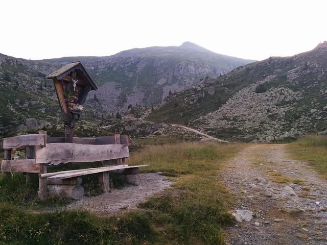 Nevesalm Richtung Chemnitzer Hütte