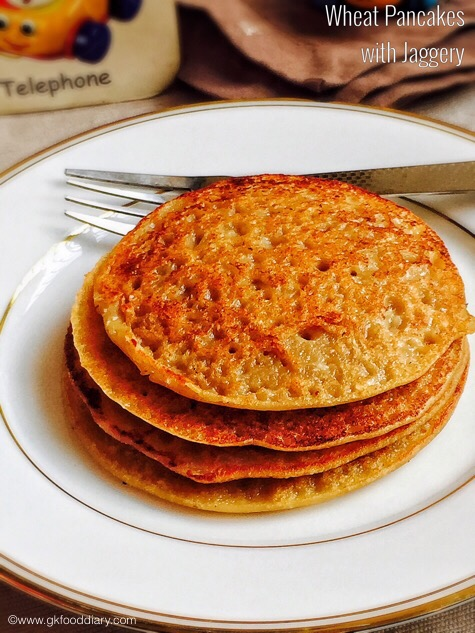 Wheat Pancakes for Babies1