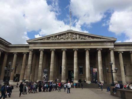 Snapshots from London: the British Muesum
