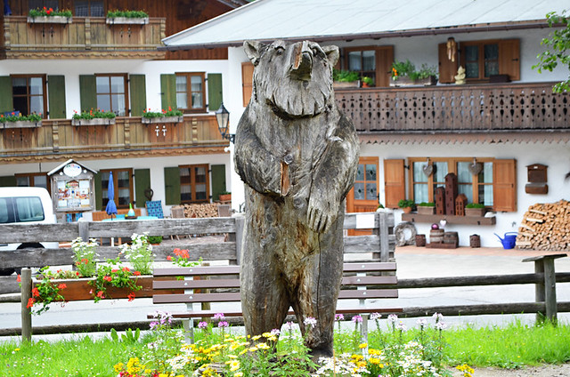 Grainau bear, Grainau, Germany