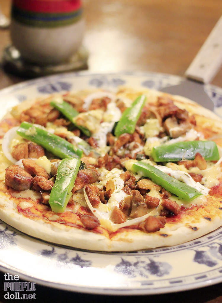 Tenderloin and Sausage Pizza (P380)