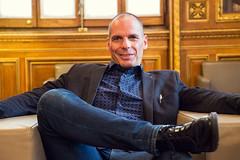 Yanis Varoufakis. Foto: Marc Lozano (CC BY-SA 2.0)