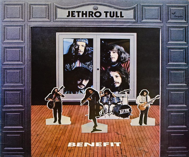 "JETHRO TULL BENEFIT UK 12"" LP VINYL"