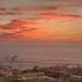 Sunset at ocean Beach, Above Sutro Baths by Easy Mark