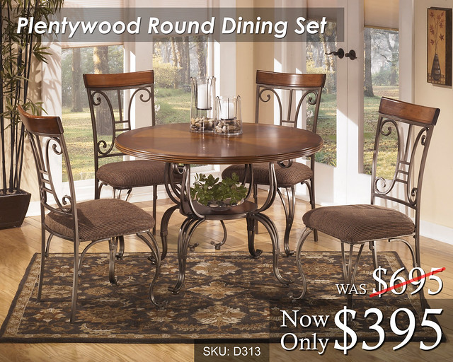 Plentywood Round Dining Set