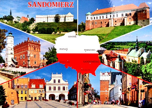 Sandomierz - Postcrossing incoming