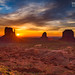 monument valley sunrise by Eric 5D Mark III