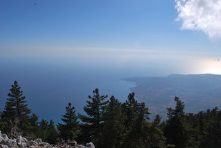 Kefalonia : View from the Ainos Mount