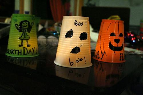 Cup Lanterns