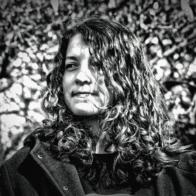 Portrait Claire NB BW 2015