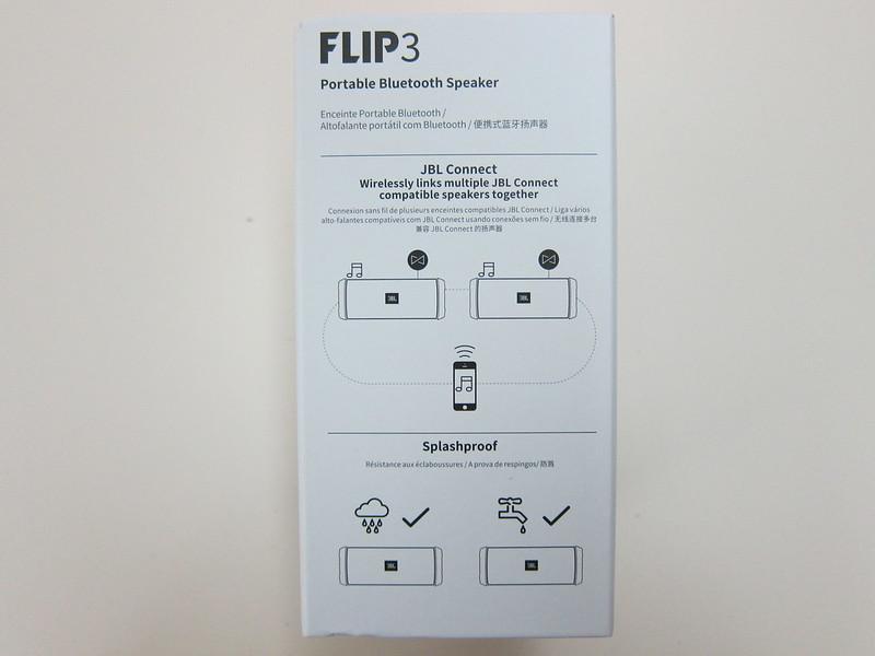 JBL Flip 3 - Box Left