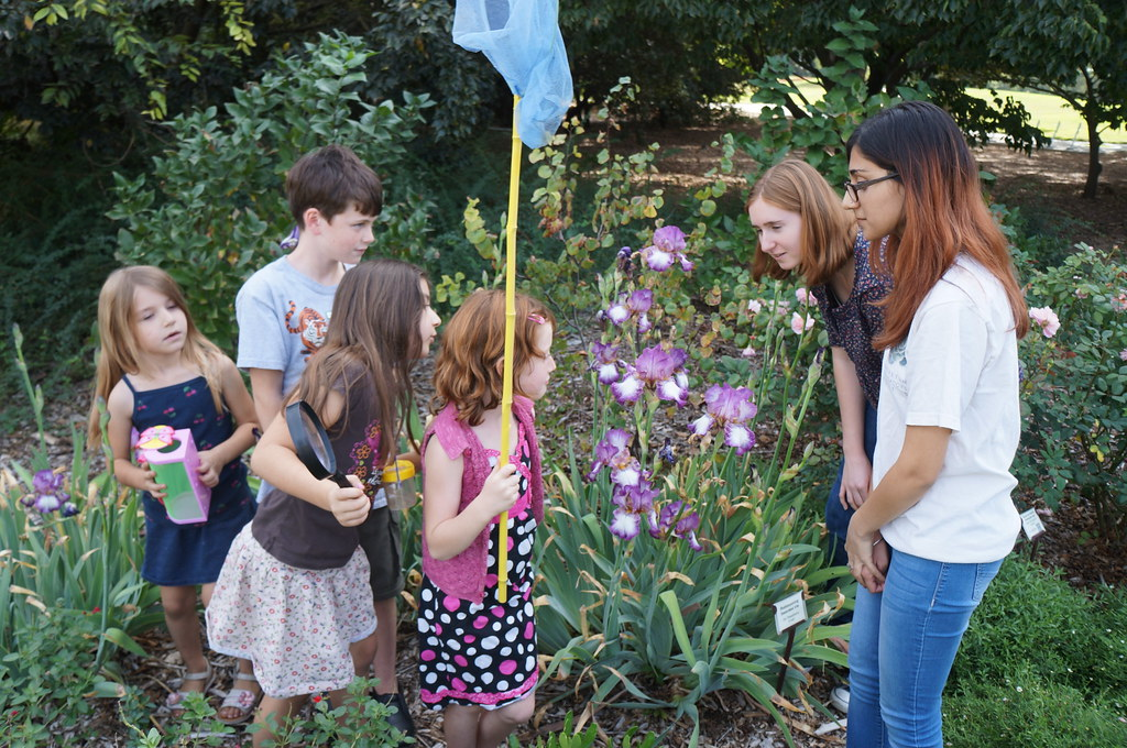 Student interns and employees lead outdoor outreach and educational programs
