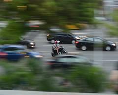 Running between cars