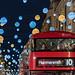 """Festive Commute"" Christmas Lights Regent Street, London, UK by davidgutierrez.co.uk"