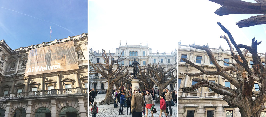 ai wei wei royal academy tree