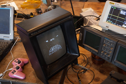 Starwars on the Vectrex