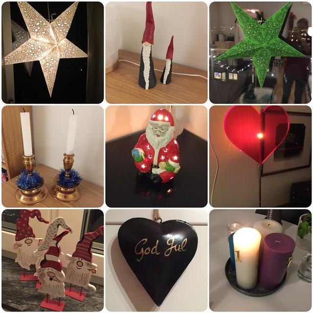 Julpynt och första advent