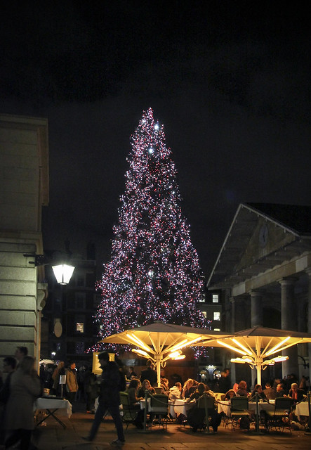 Christmas decoration at Covent Garden