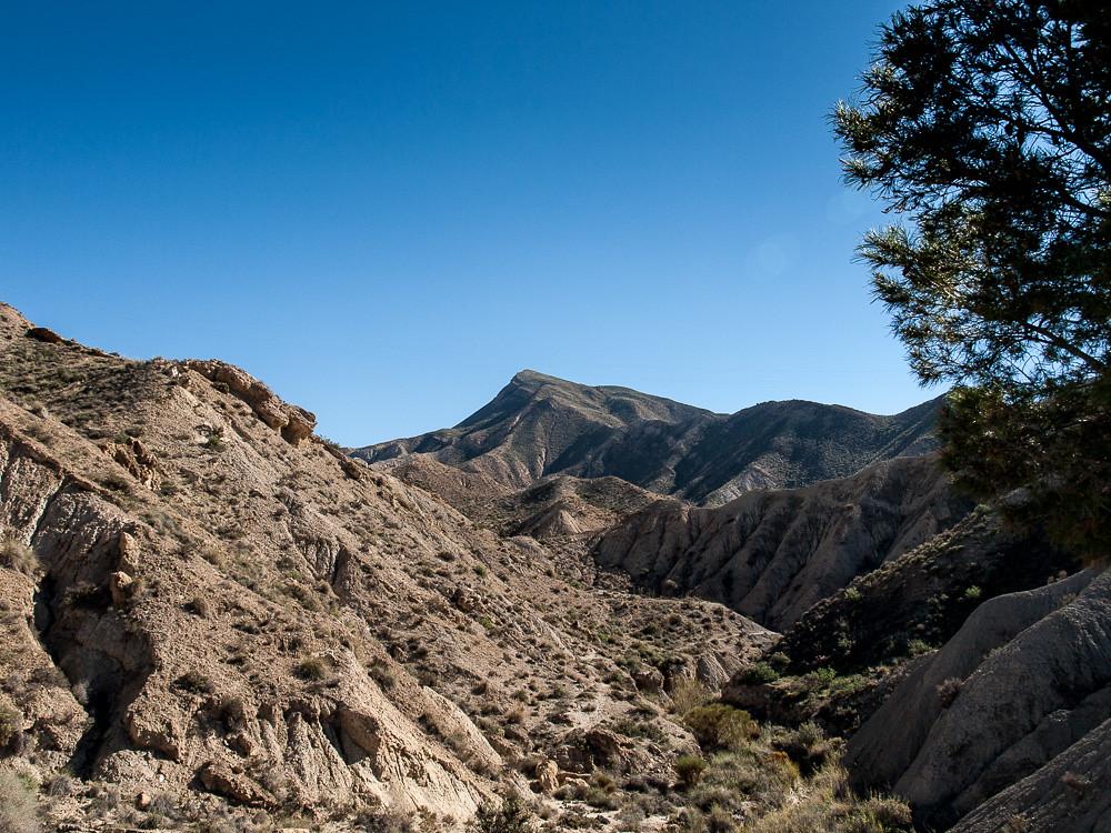 cerro Alfaro desde el desierto
