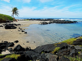 Halape beach - Hawaii volcanoes national park