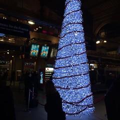 A l\'intérieur de la #garedunord #gare #paris #railways #railwaystation #ferroviaire