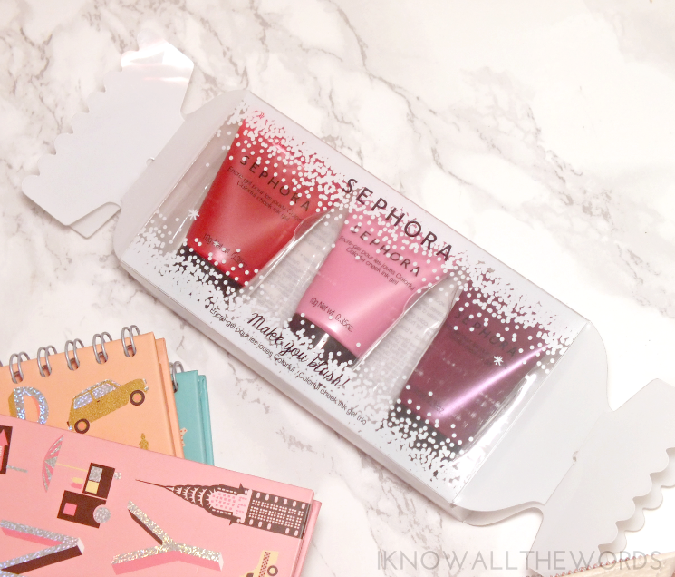Sephora Holiday 2015 Make You Blush Colourful Cheek Ink Gel Trio (2)