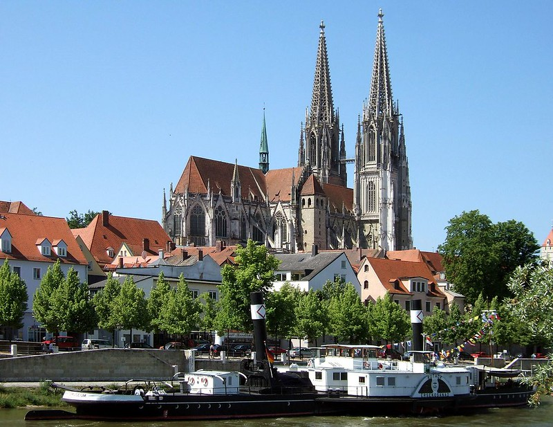 View of Regensburg Cathedral
