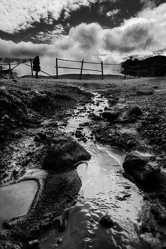 travel silhouette indonesia landscape asia diengplateau sikidang kawahsikidang