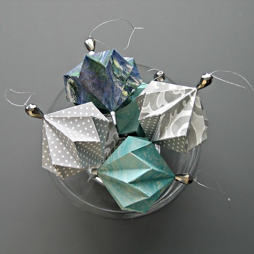 Geo Ball Origami Ornaments