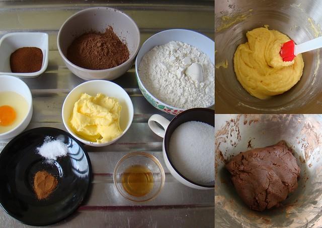 Biscoitos de Chocolate e Café