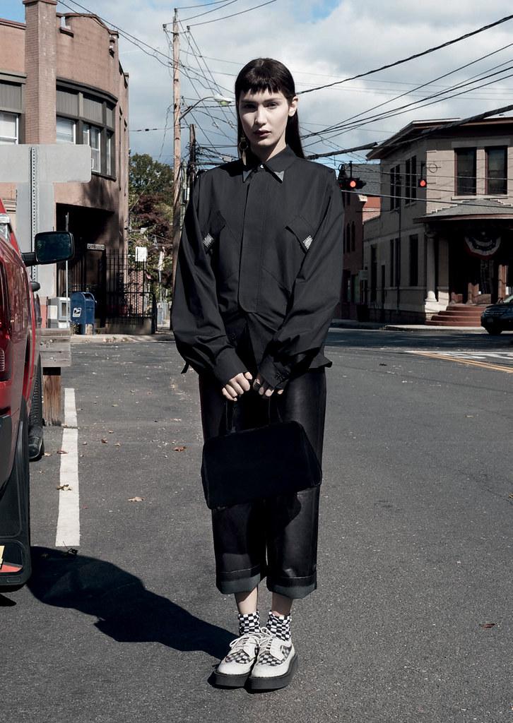 Белла Хадид — Фотосессия для «Twin» 2015 – 2