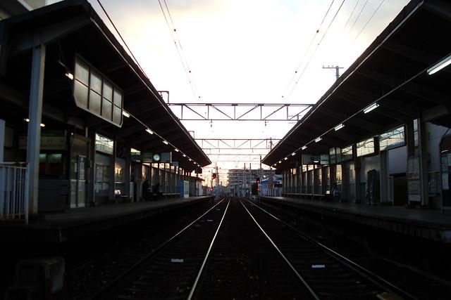 2015/12 叡山電車修学院駅 #05