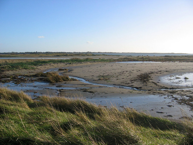 Longmere Point and Pilsey Island