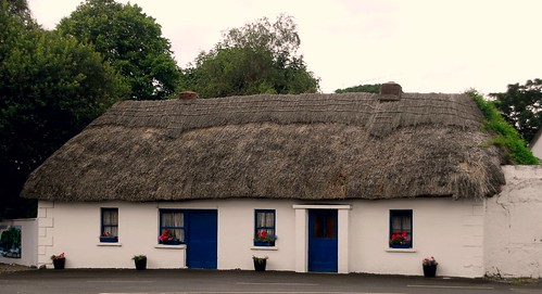 Thatched House at Ballyneety, Co. Limerick