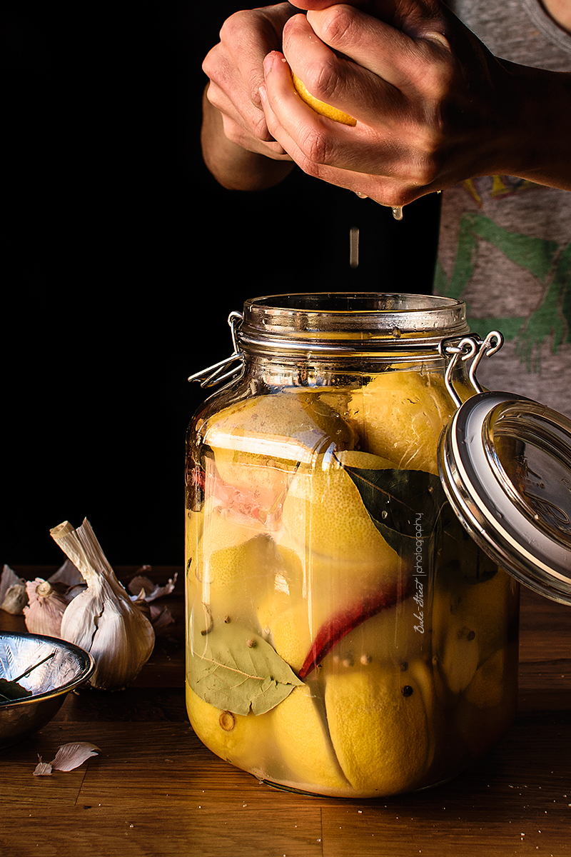 Limones en conserva {Hamad Mraquade}