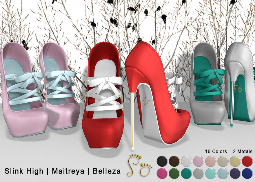 Slipper Holiday Pumps Fat Pack - SecondLifeHub.com