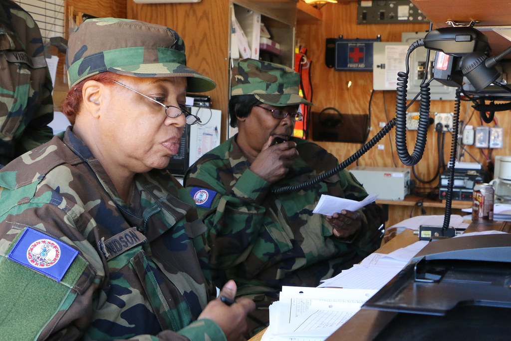VDF exercise tests commo systems, response capabilities