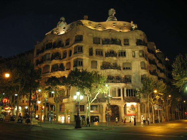 Barcellona La Pedrera Casa, Canon POWERSHOT A620