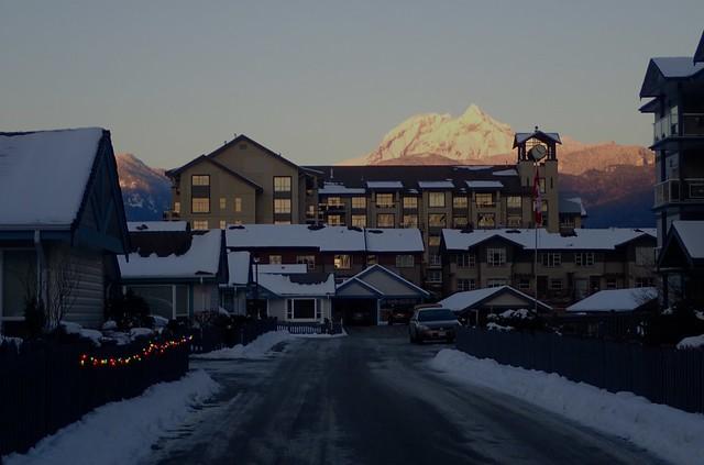 Mt Garibaldi Frozen In Time ...