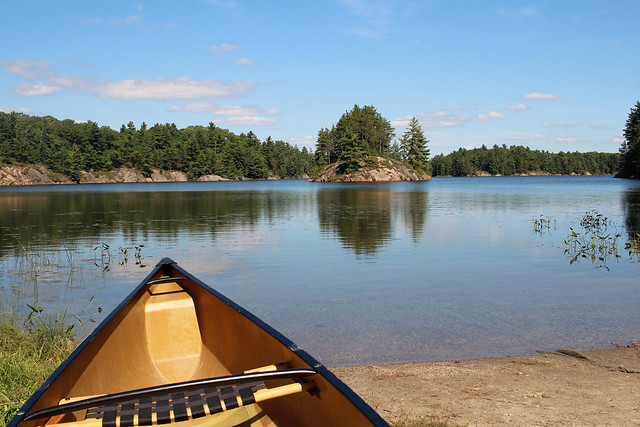 Killarney Canoe Lake