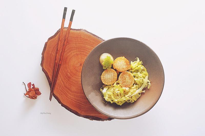 Braised Daikon Radish w Cabbage