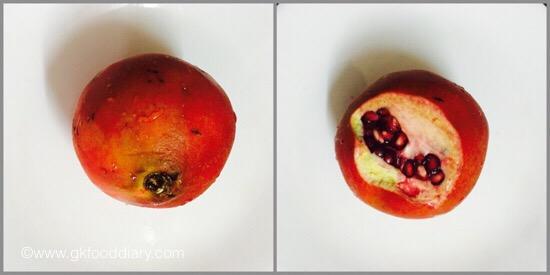 Pomegranate Juice - step 1