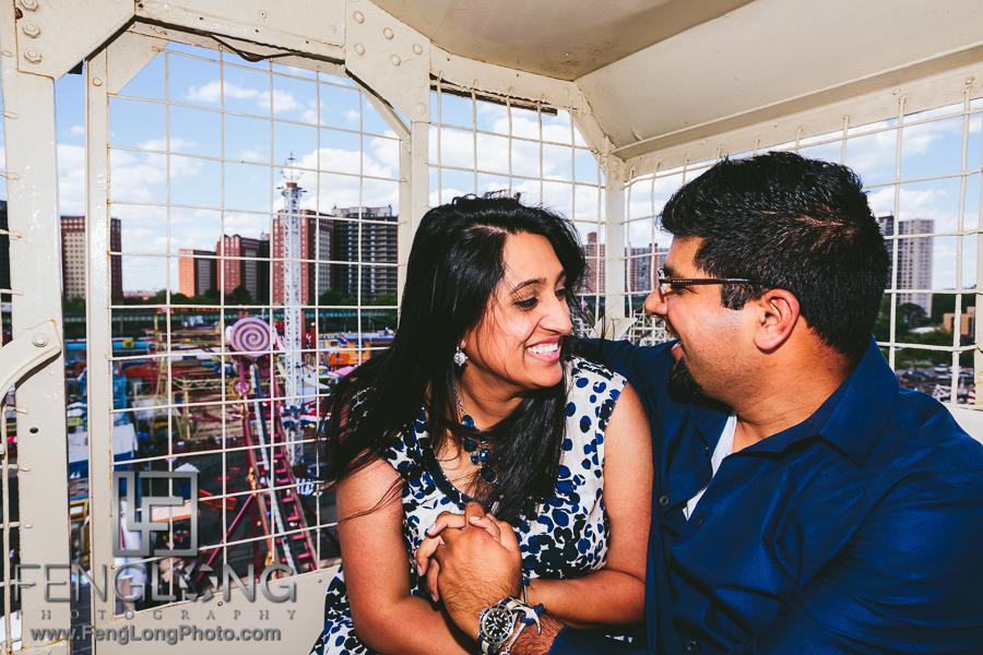 Zohra + Faisal | New York City Engagement | NYC Indian Wedding Photographer