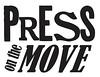 PRESS on the MOVE logo alternate