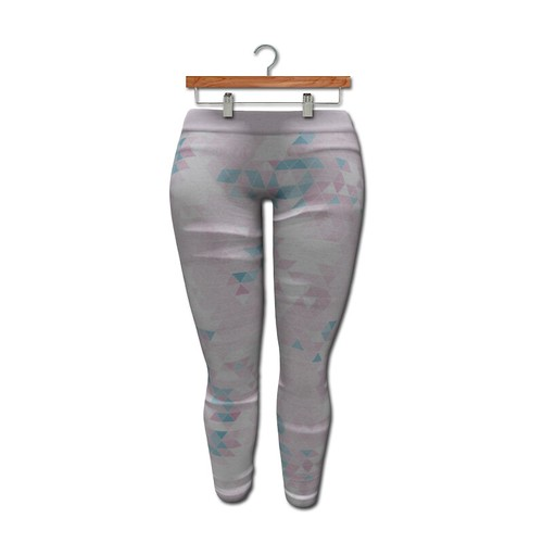 {MYNX} Leggings - Pastel Triangles