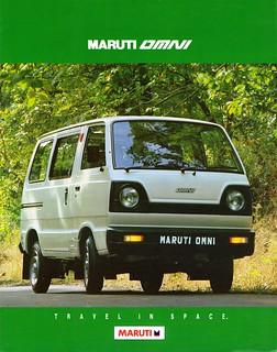 1993 Maruti Omni (India)