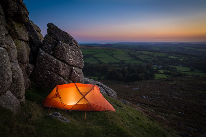 Dartmoor Wildcamp