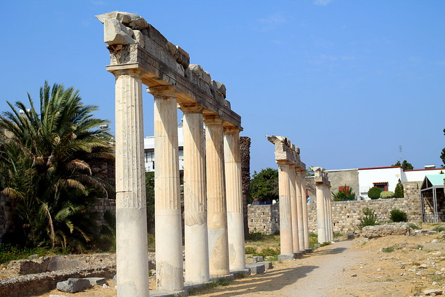 Archaeological Sites Greek Ruins Kos (7)