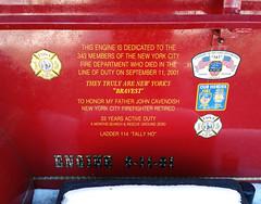 9/11 memorial #236 dedication